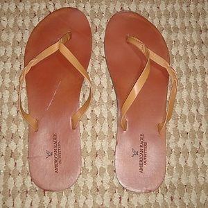 Women's size 10 flip flops